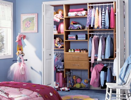 Children's Closet Design & Installation in Chicago