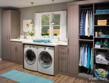 Custom Laundry Room Closets in Chicago